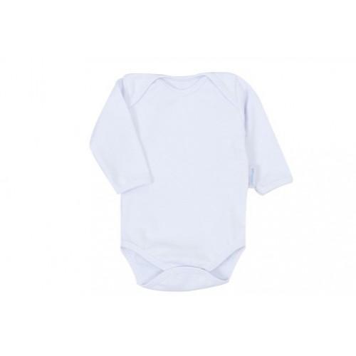 Body para Bebe Ribana Branco Manga Longa - Valor Unitário