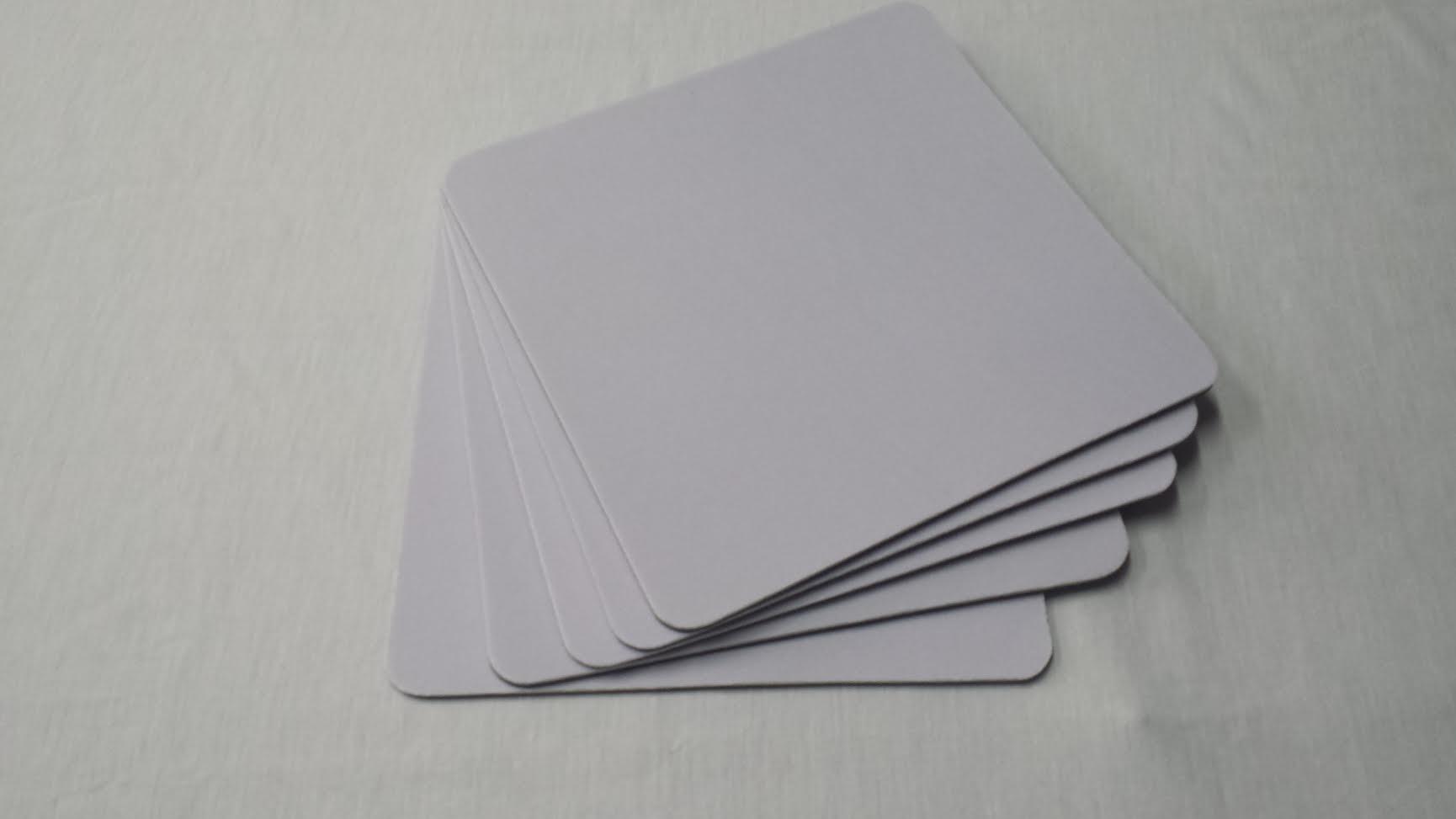 Mouse Pad Quadrado P/ Sublimação 19X19 Cm (basico) REF 302 - Valor Unitário