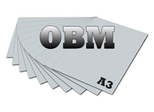 Papel OBM Tamanho A3 - Pacote com 10 folhas