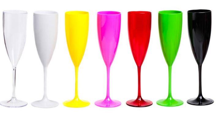 Taças de Acrílico 160ml - Várias cores - Valor Unitário