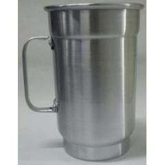 Caneca de Chopp em Alumínio Brilhante 750 ml - Valor Unitário