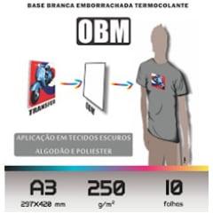 Papel OBM tamanho A3 - Valor unitário