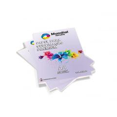Papel Transfer Resinado Alta Qualidade - Pacote c/ 50 folhas A4