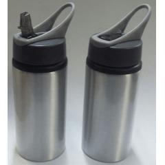 Squeeze Modelo Nike 500 ml Prata - Valor Unitário