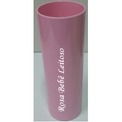 Copo Long Drink Em Acrílico Leitoso - Várias Cores - Valor Unitário