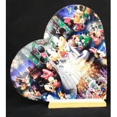 Azulejo Formato de Coração BRILHANTE - Valor Unitário