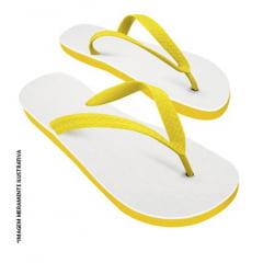 Chinelo Amarelo para Sublimação (Vários Tamanhos) - Valor Unitário