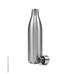 Garrafa Térmica Prata para Sublimação 500ml - Valor Unitário