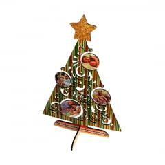 Árvore de Natal em MDF (A4) - Valor Unitário