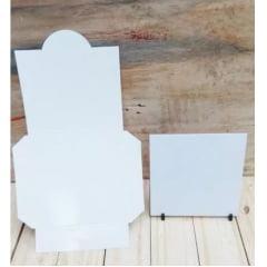 Embalagem SUBLIMÁTICA para Azulejo (sem visor) - Valor unitário