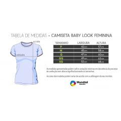 Camiseta Baby Look Azul Claro 100% POLIÉSTER PARA SUBLIMAÇÃO
