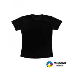Camiseta Preta Algodão