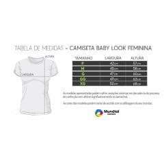 Camiseta Baby look Dry Fit para Sublimação
