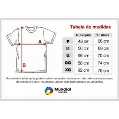 Camiseta Preta 100% Poliéster para Sublimação