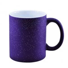 Caneca Mágica com Glitter - Interna Branca - Várias cores -  Valor Unitário