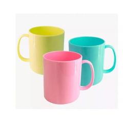 Caneca de Polímero Para Sublimação 320 ml Colorida - Valor unitário