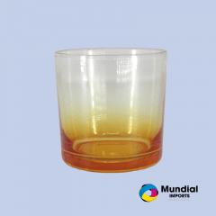 Copo De Vidro Whisky Colorido 250ML