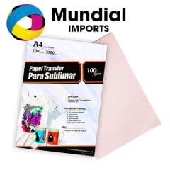 PAPEL SUBLIMÁTICO A4 FUNDO ROSA - PACOTE COM 250 FOLHAS