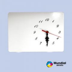 Relógio MDF 20x28 cm com número
