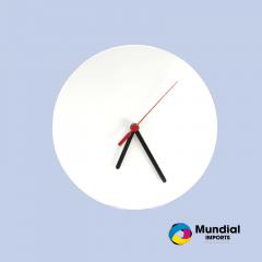 Relógio MDF Redondo 15 cm sem número